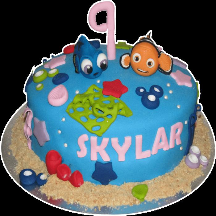 Cake Finding Nemo 04